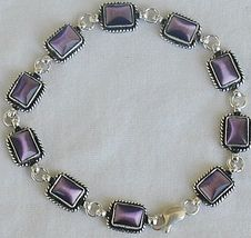 Purple sqaure bracelet - $50.00