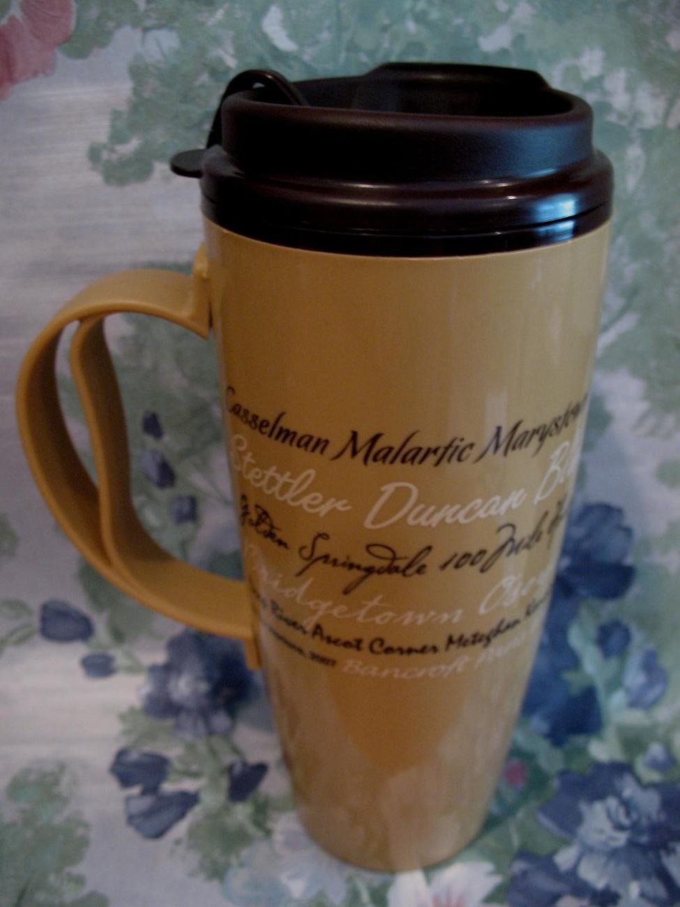 Tim Hortons Coffee Travel Cup Mug Thermo Serv 2007 Souvenir