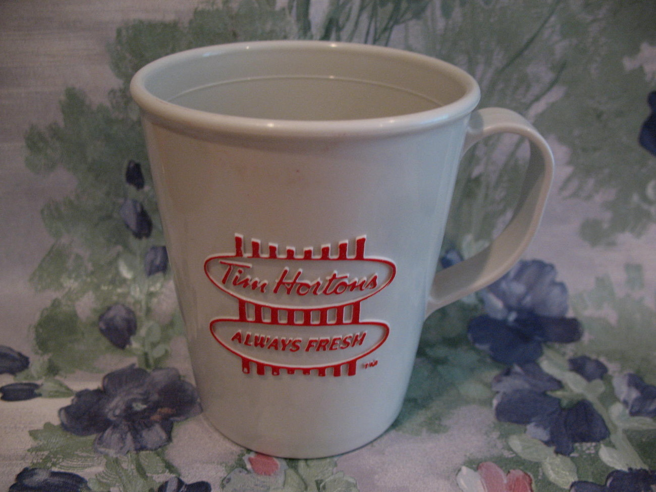 Tim Hortons Coffee Child's Travel Cup Mug Souvenir Vintage