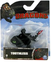 Dreamworks Dragons Mini Toothless Figure Spin Master - $6.00