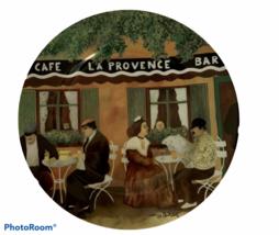 Guy Buffet MARCHE AUX FLEURS GBC Porcelain Dinner Plate Marche Provencal... - $35.59