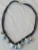 Turquoise and silver necklace 1 thumb200