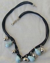 Turquoise and silver necklace 2 thumb200