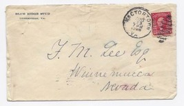 1906 Rectortown VA Vintage Postal Cover - $9.95