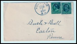 1901 Highbridge NJ Defunct (DPO) Postal Cover - $9.95