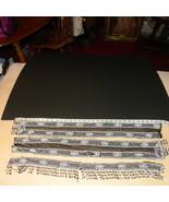 Beaded Trim 3 Pieces Black Net White Seed Black... - $20.00