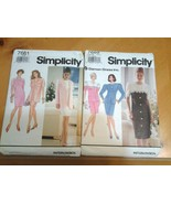 Simplicity 7661 & 7669 Two Patterns Misses Sizes (6-10) Dresses dated 19... - $9.99