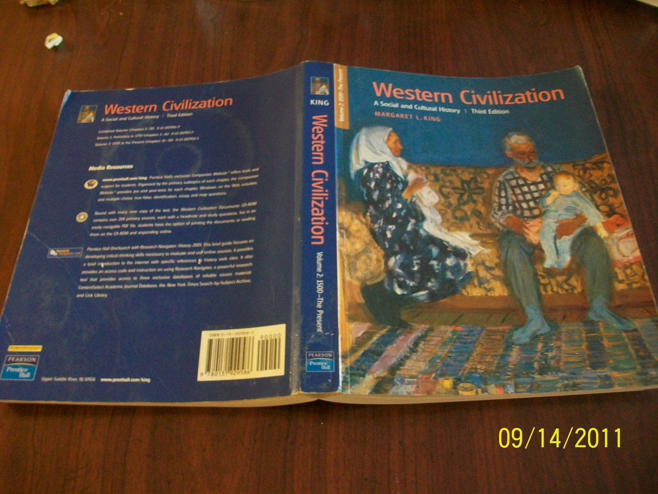 Western Civilization A Social and Cultural History King 3rd