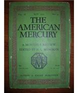 1927 AMERICAN MERCURY May Vol 11 No. 41 SHER. ANDERSON - $15.00