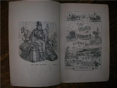 1874 BENJAMIN TAYLOR The World on Wheels railroad illus