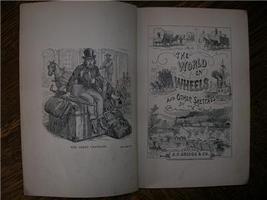 1874 BENJAMIN TAYLOR The World on Wheels railroad illus - $75.00