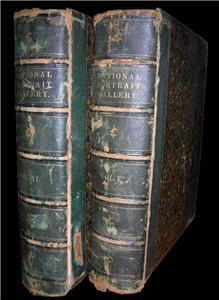 1862 NATIONAL PORTRAIT GALLERY AMERICANS Duyckinck 2vol