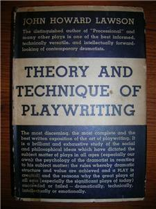 1936 LAWSON Playwriting Blacklisted Writer SCARCE HCDJ