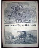 CIVIL WAR GETTYSBURG Century Magazine Article 1886 - $10.00