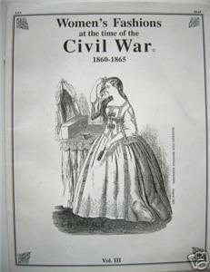 CIVIL WAR Women's Fashion Illustrated HARPER'S Vol. 3
