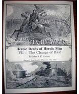 CIVIL WAR Change of Base Article Harper's Magazine 1865 - $10.00