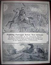 CIVIL WAR NEW ORLEANS Century Magazine Article ... - $10.00