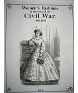 CIVIL WAR Women's Fashion Illustrated HARPER'S ... - $25.00