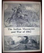 INDIAN MASSACRES and WAR of 1862 Harper's Monthly 1863 - $10.00