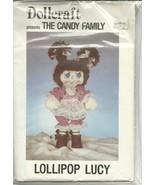 Lollipop Lucy Dollcraft Candy Family Doll Pattern Vintage Clothes - $5.93