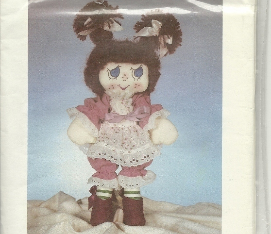 Lollipop Lucy Dollcraft Candy Family Doll Pattern Vintage Clothes