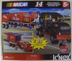 K'NEX Nascar Tony Stewart #14 Transporter Rig Set - New - $50.00
