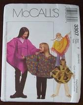 Mc Calls 3307 Childs Poncho & Pants Size 3-6 - $1.85
