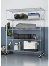 TRINITY All-Purpose Storage Shelving Rack 4000 lb. Load Capacity 5-Tier ... - $342.56