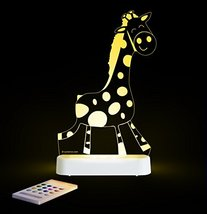 Giraffe SleepyLight -Color Change 12 Color Pattern LED Decorative Night ... - $29.34