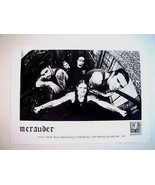 Hard Core Punk New York Band MERAUDER Publicity Photo -Century Media Rec... - $4.99