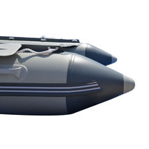 BRIS 12.5ft Inflatable Boat Inflatable Dinghy Rescue & Dive Raft Fishing Boat    image 10