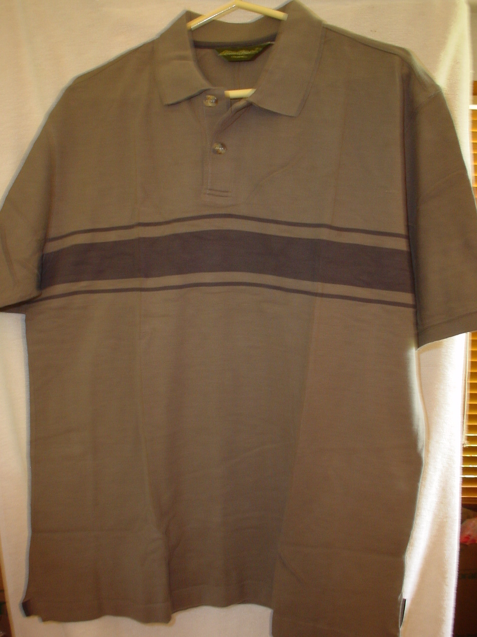 Eddie Bauer Short Sleeve Polo Shirt NWOT Small/Medium/Large/XLarge