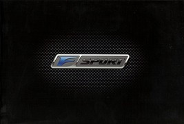 2010 Lexus F SPORT parts accessories brochure catalog TRD - $8.00