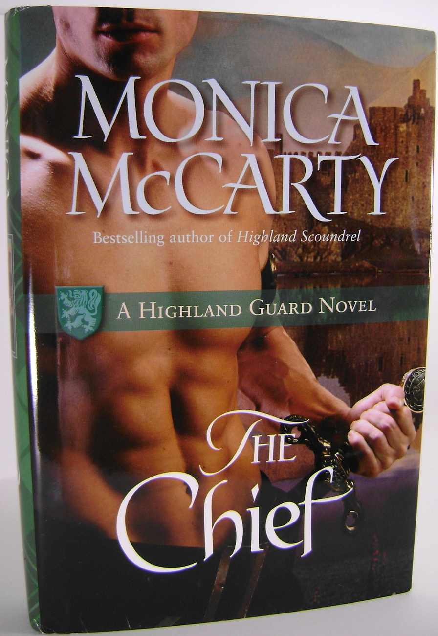 Monica McCarty The Chief A Highland Guard Novel BCE HC
