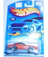 "2001 Hot Wheels Mattel Wheels ""Corvette"" #219 Mint Car On Sealed Card - £2.54 GBP"