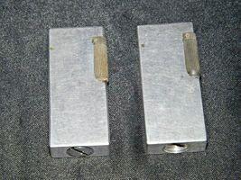 Flint Eaton Decatur Rectangle Lighters AA19-1676 Vintage Two image 4