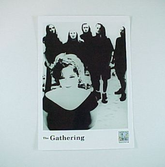 Progressive Rock Group The GATHERING Publicity Photo -Century Media Records