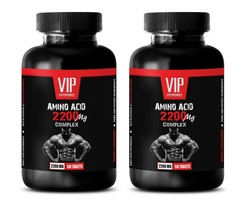 muscle male testosterone - AMINO ACID 2200MG 2B - amino acids workout recovery - $33.62
