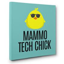 Diagnostic Imaging MAMMO Tech Chick CANVAS Wall Art Decor - $35.15