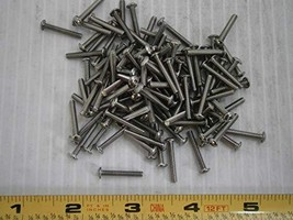 Machine Screws 4/40 x 3/4 Socket Button Cap Stainless LOT of - 50#2013 -... - $22.31