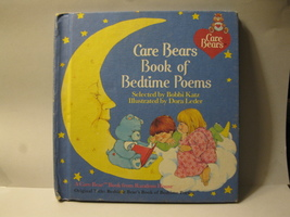1983 Care Bears Book of Bedtime Poems - Bobbi Katz HC - $2.00