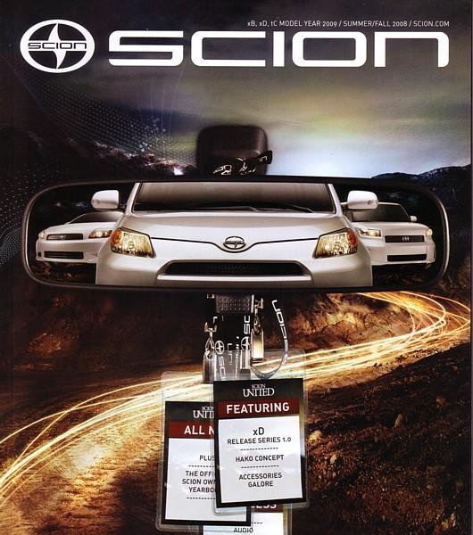 2009 Scion xB xD tC brochure catalog magazine ISSUE 13 ist Rumion - $8.00