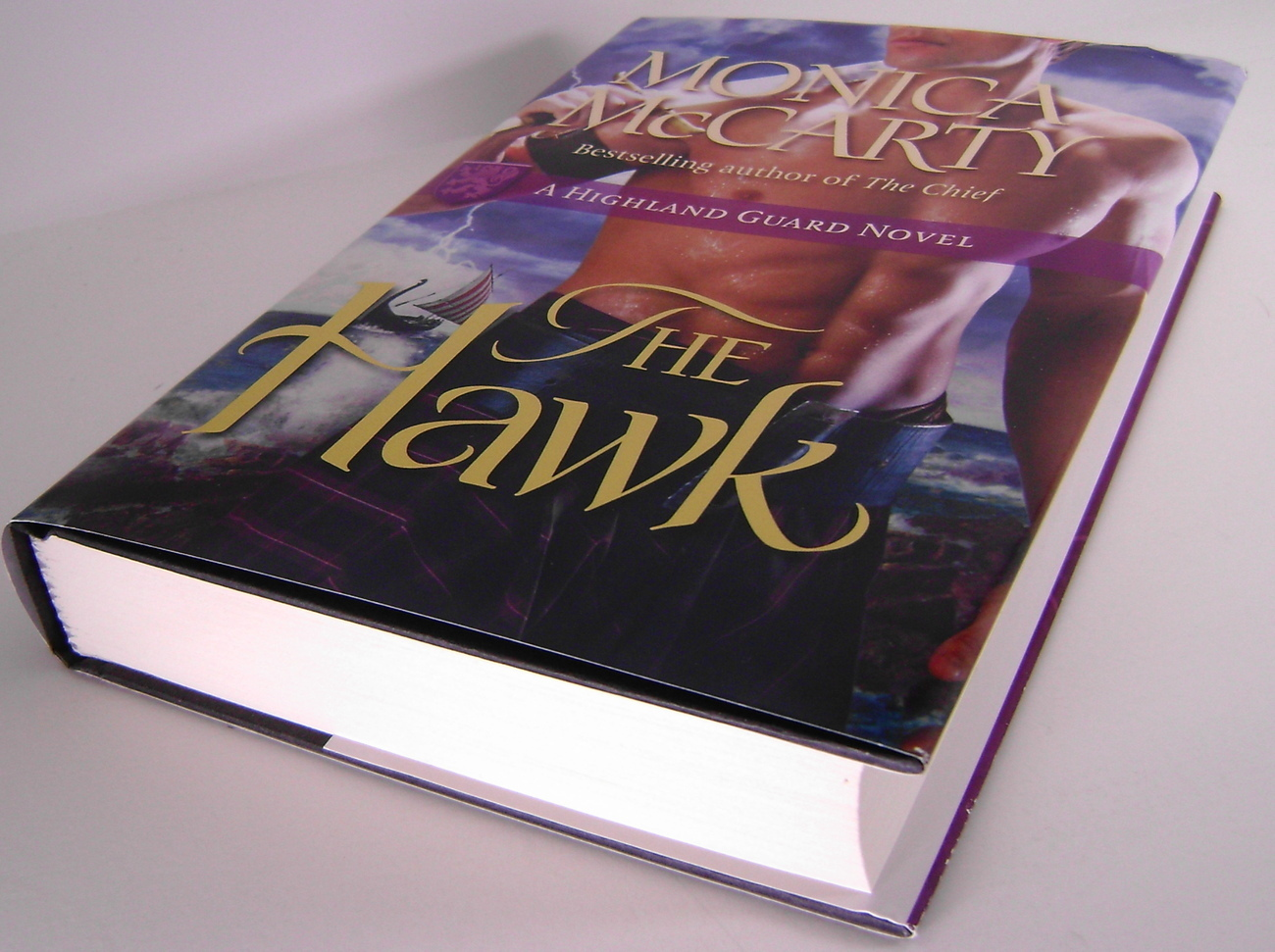 Monica McCarty The Hawk A Highland Guard Novel BCE HC