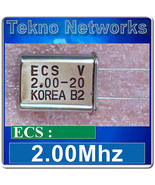 ECS - 2Mhz  Quartz Crystal Oscillators - 10pcs ... - $1.13