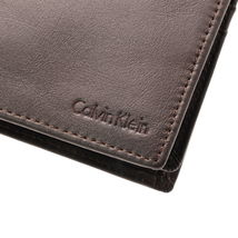 Calvin Klein Ck Men's Leather Key Fob Coin Wallet Keychain Gift Box Set 79349 image 14