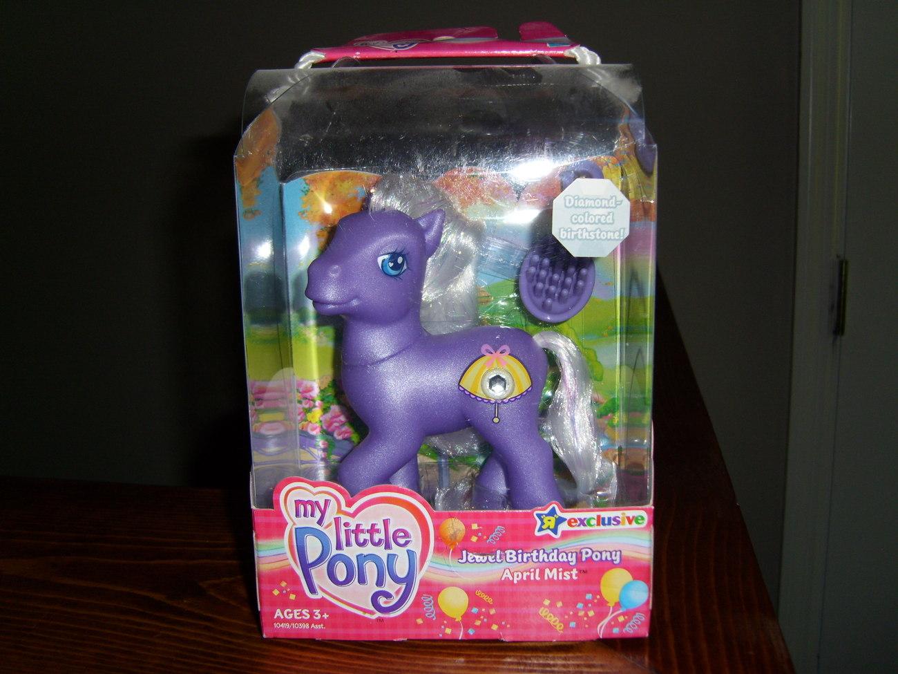 My little pony mib april mist