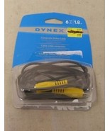 Dynex 6' Composite Video Cable DX-AD130 - $2.64