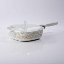 Vtg Corning Ware Floral Bouquet P-1-B 1 Quart Dish Lid & Handle Range Microwave - $44.55