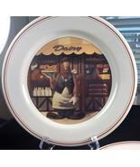 Pair Looney Tunes Foghorn Leghorn Delancey St dinner plates - $25.00