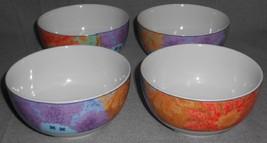 Set (4) Fine Royal Porcelain SCULPTURE PATTERN Artist Signed SOUP/CEREAL... - $23.75